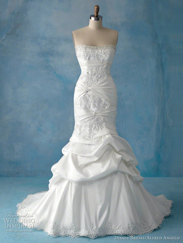 Disney fairy tale weddings by alfred angelo princess for Fairytale inspired wedding dresses
