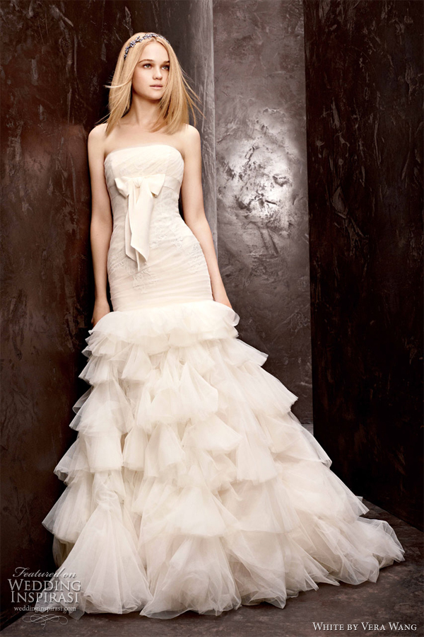 vera wang 2012 strapless wedding dresses fashion trend dresses image