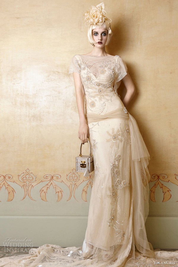 Yolancris 2013 Wedding Dresses Mademoiselle Vintage